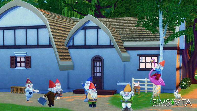 La casa de los siete enanitos hogar sims vita for Casa enanitos